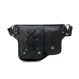 Yvette Leather Waist pack Belt Bag