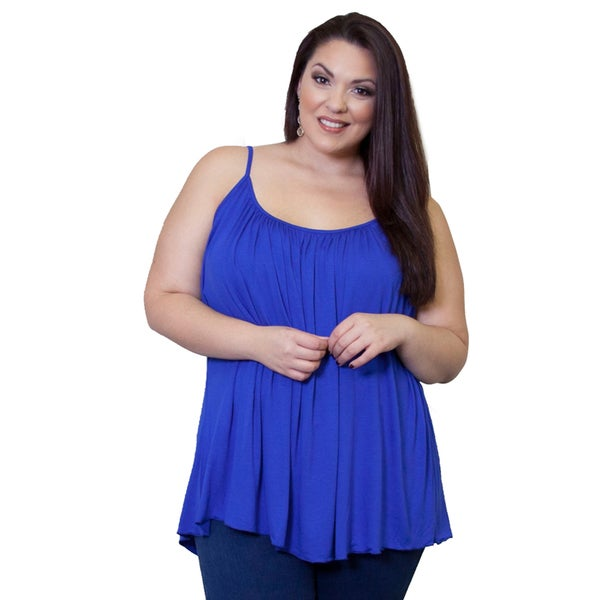 Sealed with a Kiss Women's Plus Size Pretty Cami