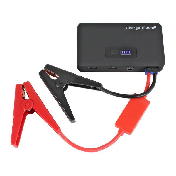 Charge It! Jump Portable Power Pack and Jump Starter with EVA Carrying Case