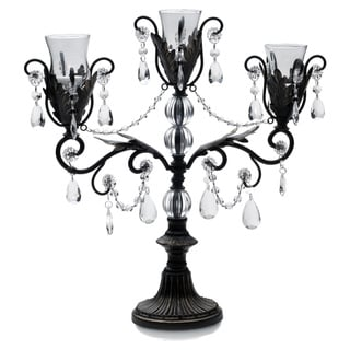 Mikasa Triple-arm Chandelier Candle Holder