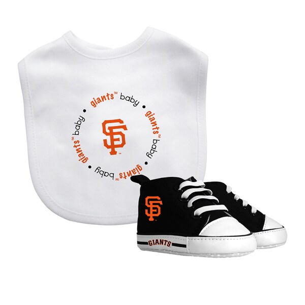 San Francisco Giants Bib and Pre-Walker Shoes Gift Set