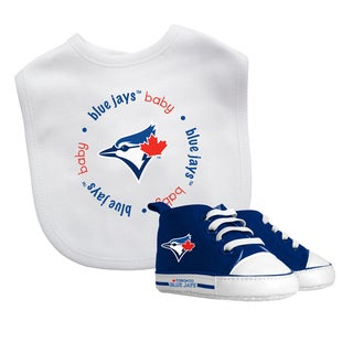 Toronto Blue Jays Bib and Pre-Walker Shoes Gift Set