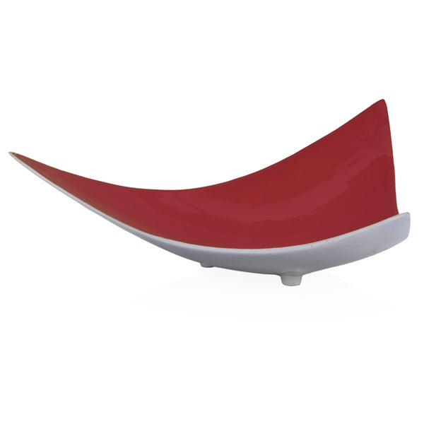 Trigon Tray - Poppy Red
