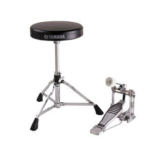 Yamaha FPDS2A Hardware Package with DS550U Drum Throne and FP6110A Bass Drum Pedal