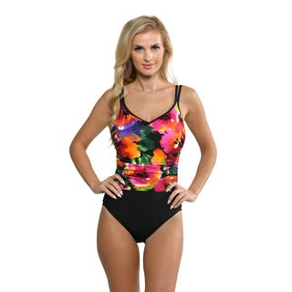 Miraclesuit Women's Tropical Flower Bethany Swimsuit