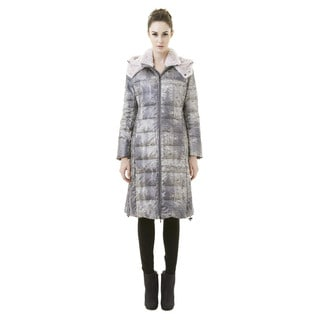 Women's '818A' Long Quilted Down Coat