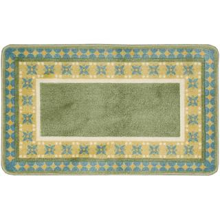 Nourison Accent Decor Xmas Green Accent Rug (1'6 x 2'6)