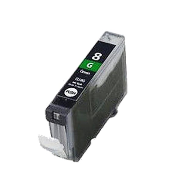 1PK CLI-8 Green Compatible Inkjet Cartridge For Canon PIXMA Pro 9000 ( Pack of 1 )