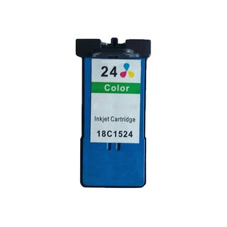 1 Pack 18C1524 (#24) Color Compatible Ink Cartridge For Lexmark X3530/Z1410 (Pack of 1 )