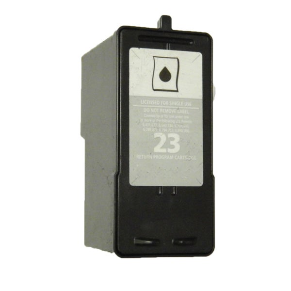 1 Pack 18C1523 (#23) Black Compatible Ink Cartridge For Lexmark X3530/Z1410 (Pack of 1)