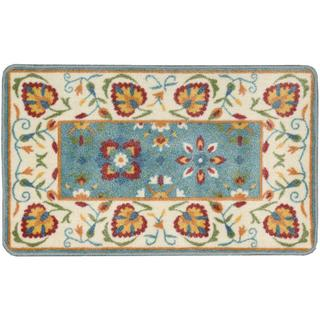 Nourison Accent Decor Xmas Ivory Accent Rug (1'6 x 2'6)