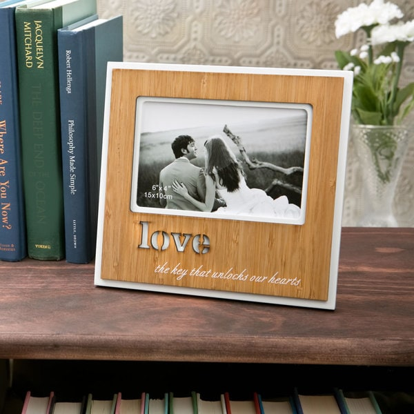 Fashioncraft 'Love' 4x6 Picture Frame