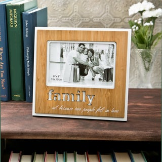 Fashioncraft 'Family' 4x6 Wood Frame