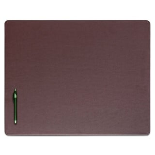 Chocolate Brown Leatherette (24x19-inch) Desk Pad