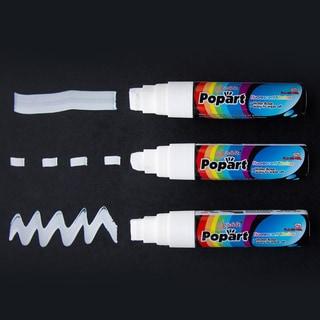 Jumbo 15mm White Chalk Markers (Set of 3)