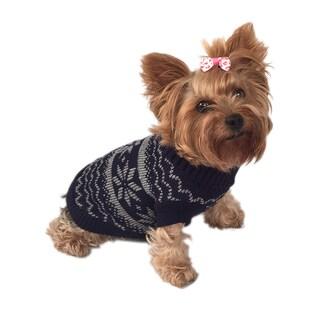 ANIMA Knit Snowflake Toy Pet Sweater