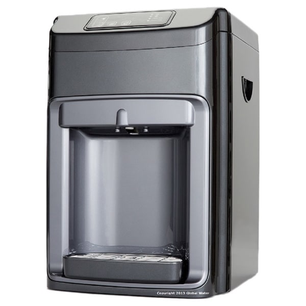 Global Water G5CTF Hot and Cold and Ambient Bottle-less Countertop Water Cooler with UV Light and Nano Filter 16397760