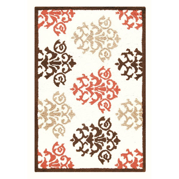 2' x 3' Hooked Rug - Shabby Chic