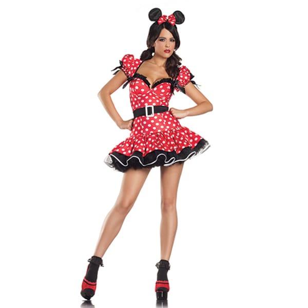 Donna di Capri Women's Flirty Mouse Costume costumes