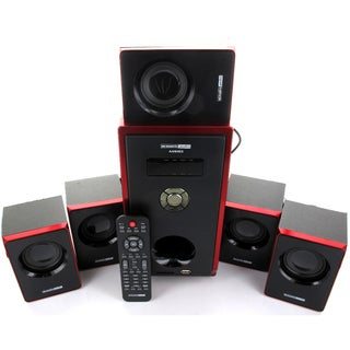 Acoustic Audio AA5103 800-watt 5.1-channel Home Theater Surround Sound Speaker System