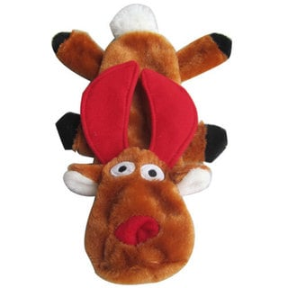 Iconic Pet Christmas Reindeer Dog Toy