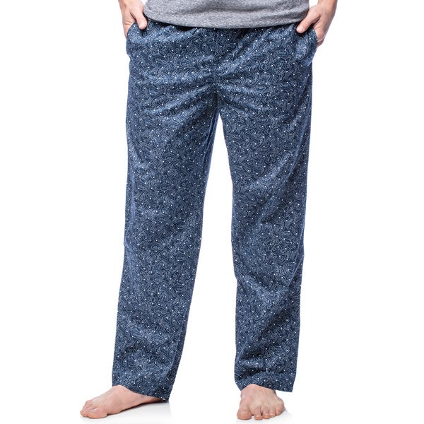 Ike Behar Men's Blue Notes Woven Lounge Pants