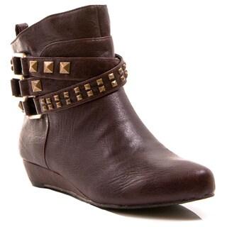 Gomax Women's 'Agatha-04' Ankle High Boots