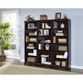 Mulberry 72-inch Bookcase Wall With 3 Sections