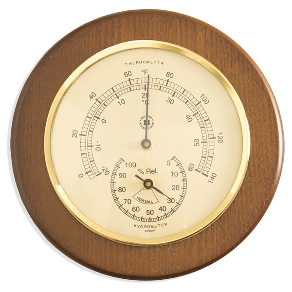Bey Berk Thermometer with Hygrometer