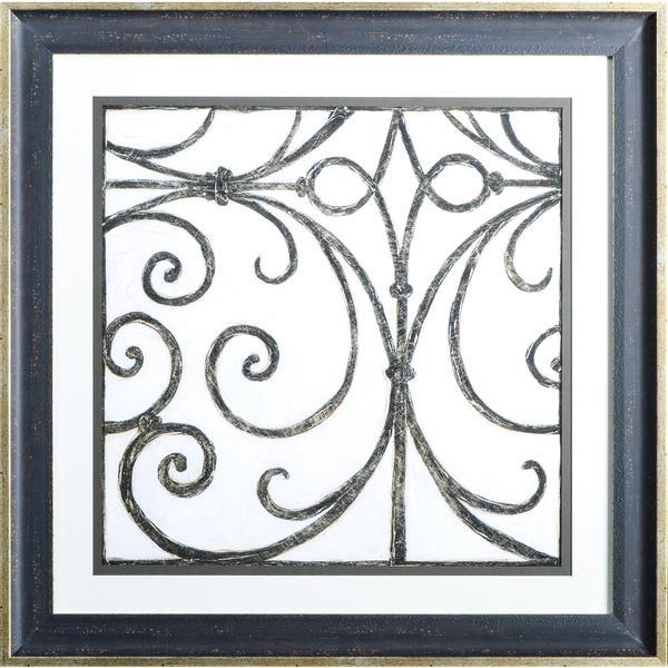 "Meagher ""Iron Gate III"" Framed Art"