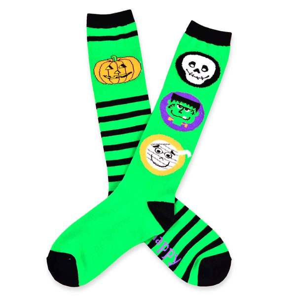 Women's Halloween Knee-High Socks 2-Pack