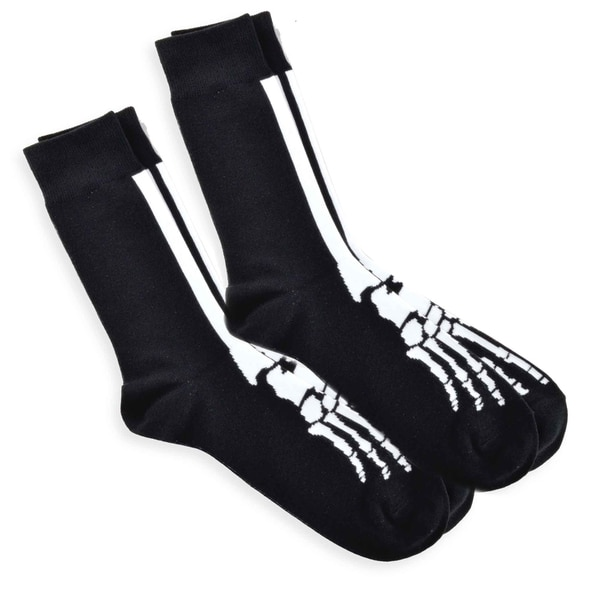 Men's Skeleton Novelty Fashion Crew Socks