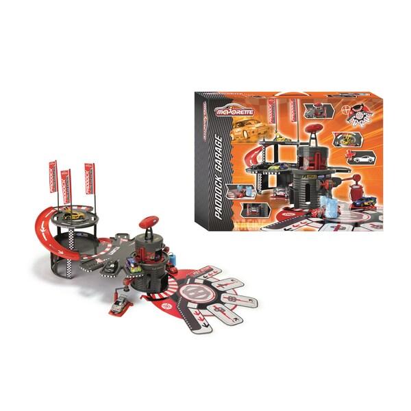 Dickie Toys Majorette Racing Paddock Garage
