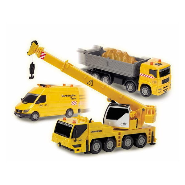 Dickie Toys Construction Team Crane Truck