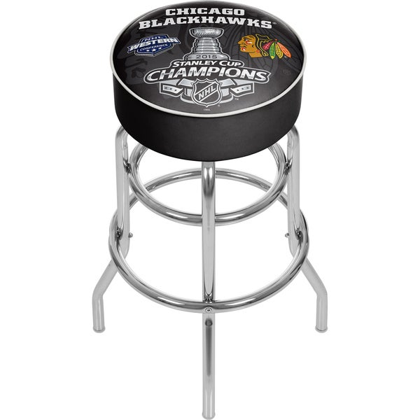 Chicago Blackhawks Swivel Bar Stool 16399346
