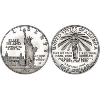 American Coin Treasures 1986 Silver Statue of Liberty Commemorative Dollar Coin
