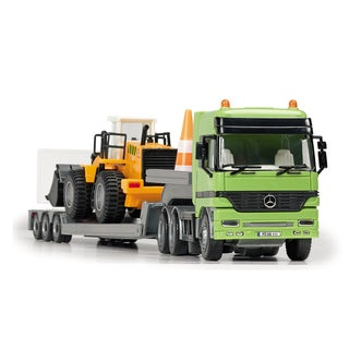 Dickie Toys Mercedes-Benz Actros Team with Front Loader