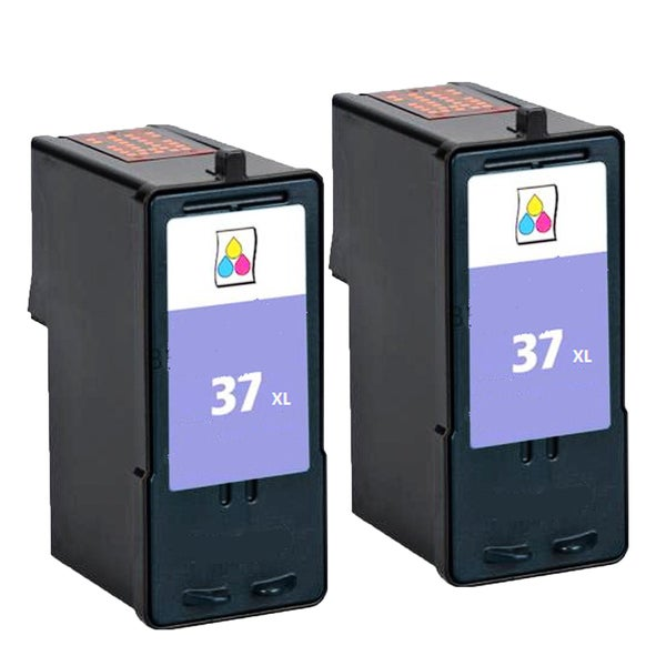 2PK 18C2180 (#37) Compatible Ink Cartridge For Lexmark X3650 Lexmark X4650 Lexmark X5650 ( Pack of 2 )