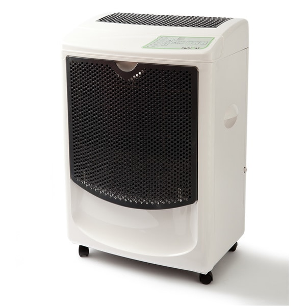 Pridiom PGD1080HCW 120-Pint Heavy Duty Dehumidifier 16399659