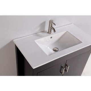 Vanity Art 36-inch Single Sink Bathroom Vanity with Mirror and Faucet