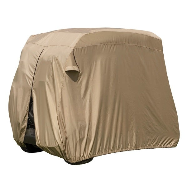 Classic Fairway Golf Cart Easy-On-Cover, Sand