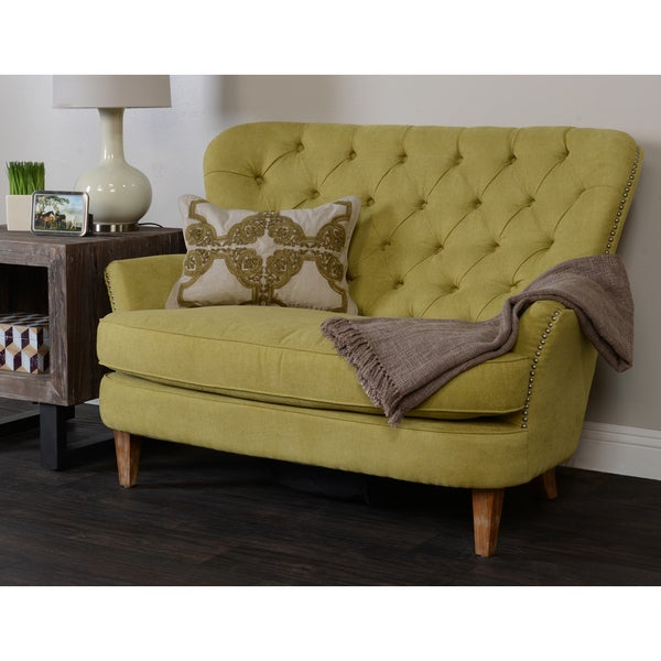 Milan 2-seater Citron Sofa Loveseat