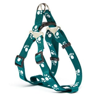 Iconic Pet - Paw Print Adjustable Harness