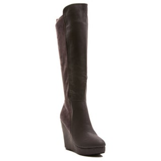 Gomax Women's Fullhouse-08 Mid-Calf Wedge Boot