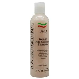 La-Brasiliana Uno Keratin and Collagen 8.45-ounce Shampoo