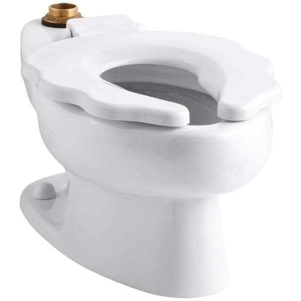 Kohler Primary Elongated Toilet Bowl Only in White