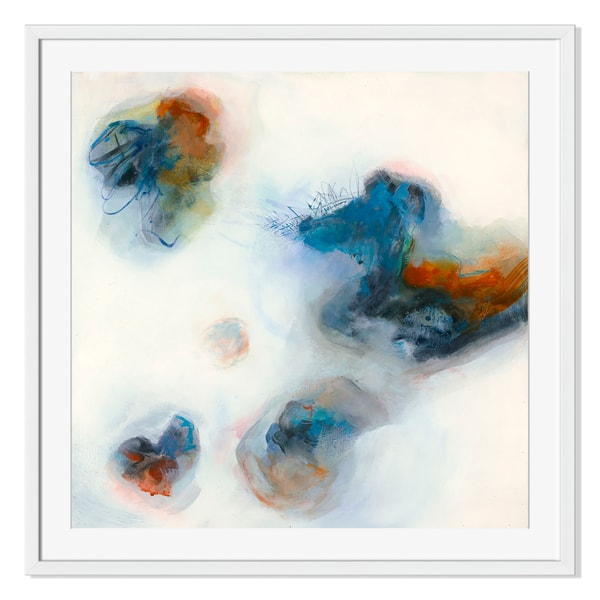 Chromatic Clash III Print by Lynn Taylor on Paper Frame
