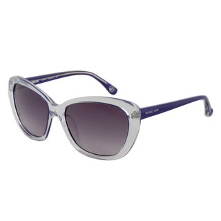 Michael Kors M2903S 531 Sabrina Women's Cateye Sunglasses Purple Frame, Grey Lenses