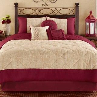 Casa Mia San Miguel 7-piece Microfiber Comforter Set