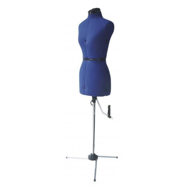 Adjustable Blue Small Mannequin Form